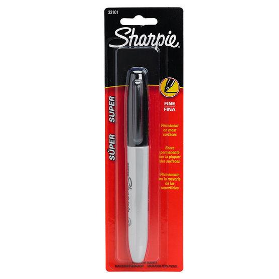 Super Sharpie Black - 1 pack