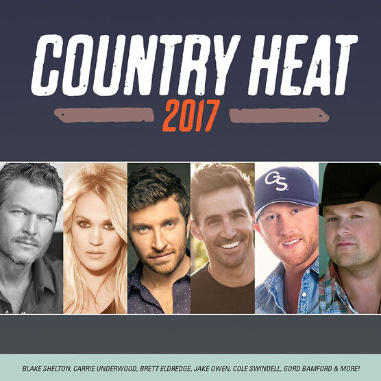 Various Artists - Country Heat 2017 - CD