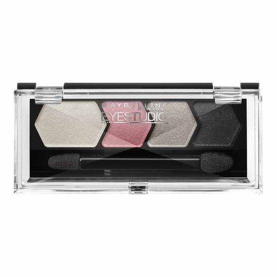 Maybelline Eye Studio Color Plush Silk Eyeshadow Quad - Pink Persuasion