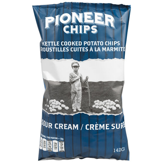 Pioneer Chips - Sour Cream - 142g