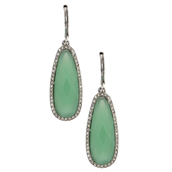 Lonna Lilly Stone Earring - Green