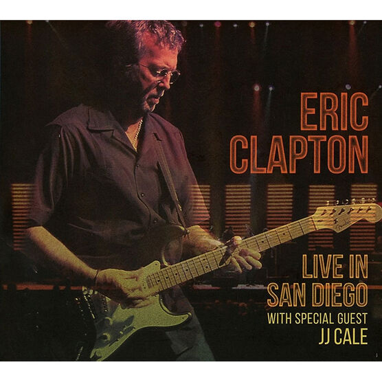 Eric Clapton - Live in San Diego with Special Guest JJ Cale - 2 CD