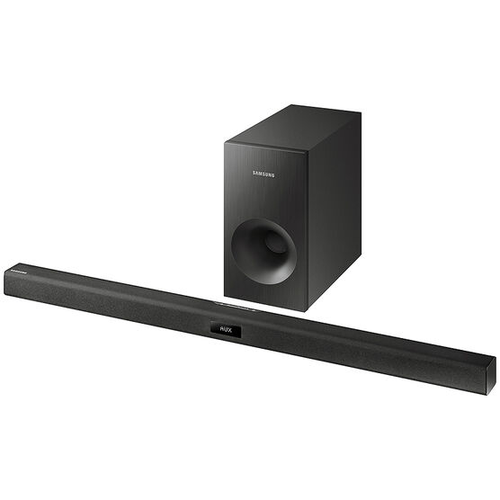 Samsung 120W 2.1 Channel Soundbar with Subwoofer - HWJ355