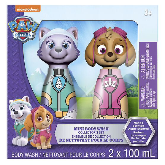 Paw Patrol Mini Body Wash Collector's Set - Mango - 2 x 100ml