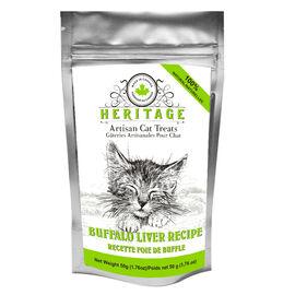 Heritage Artisan Cat Treats - Buffalo Liver - 50g