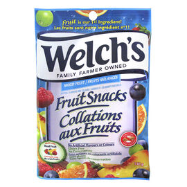Welch's Fruit Snacks - Mixed Fruit - 140g