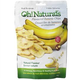 Oh! Naturals Banana Chips - 100g