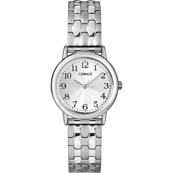 Timex Carriage Mid Size Expansion Watch - Silver