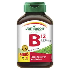 Jamieson Vitamin B12 1,200 mcg  (Cobalamin) Timed Release - 60's