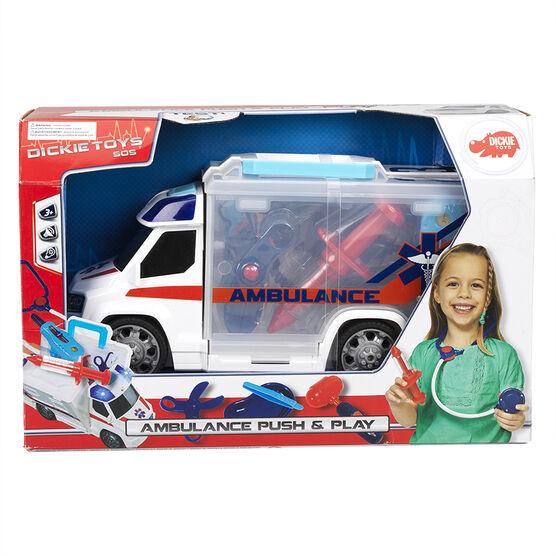 Dickie Toys - Ambulance Push & Play