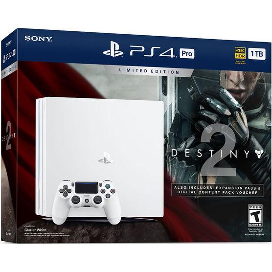 Sony PlayStation PS4 Pro 1TB Hardware Bundle - Destiny 2: Limited Edition - CUH-7015B