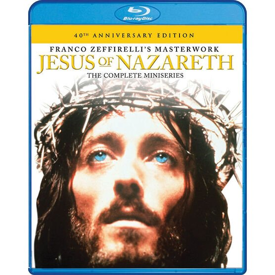 Jesus of Nazereth: The Complete Miniseries - Blu-ray