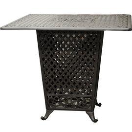 Seymour Cast Aluminum Propane Fire Table   BlackPatio Furniture   London Drugs. Outdoor Patio Furniture Sale Calgary. Home Design Ideas
