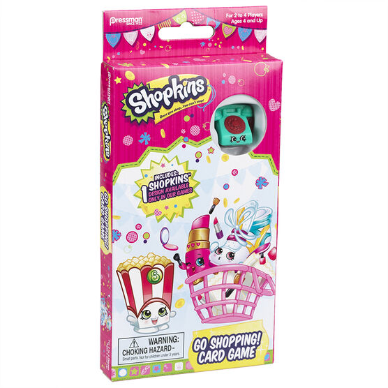 Shopkins Card Game - Assorted
