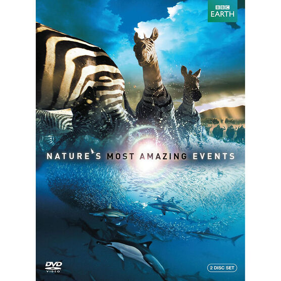 Nature's Most Amazing Events - DVD