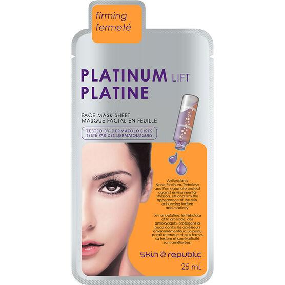 Skin Republic Platinum Lift Face Mask Sheet - 25ml