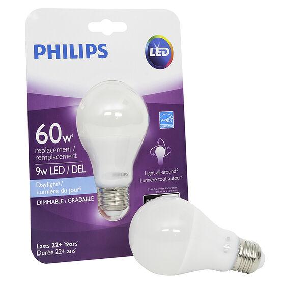 Philips Performance A19 LED Bulb - Daylight - 60W