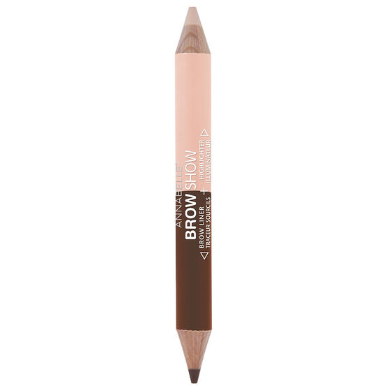 Annabelle Brow Show Brow Liner & Highlighter - Medium to Dark
