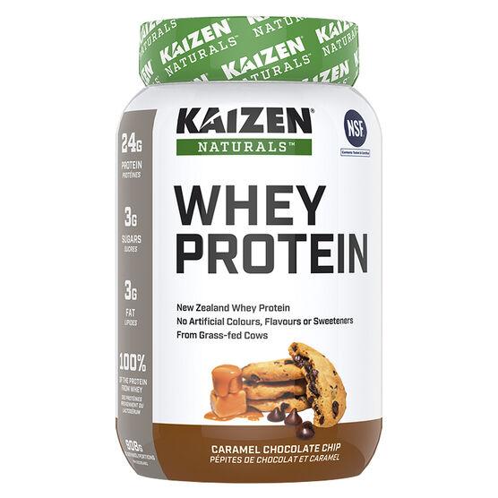 Kaizen Naturals Whey Protein - Carmel Chocolate Chip - 908g