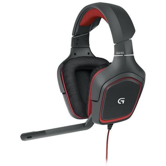 Logitech G230 Stereo Gaming Headset - 981-000541