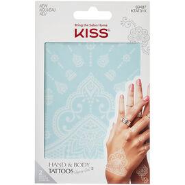 Kiss Hand & Body Tattoos - Gypsy Girl