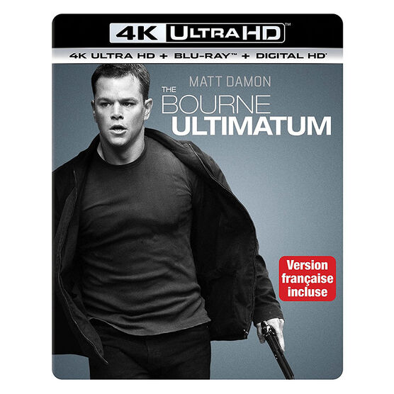 The Bourne Ultimatum - 4K UHD Blu-ray