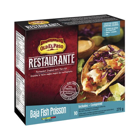 Old El Paso Resteraunte - Baja Fish - 279g