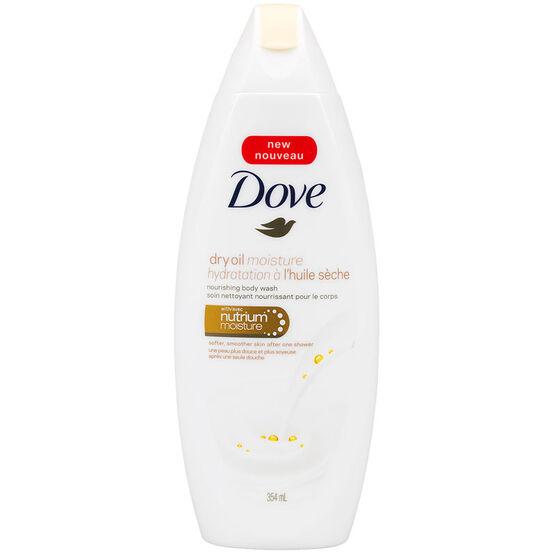 Dove Dry Oil Body Wash - 354ml