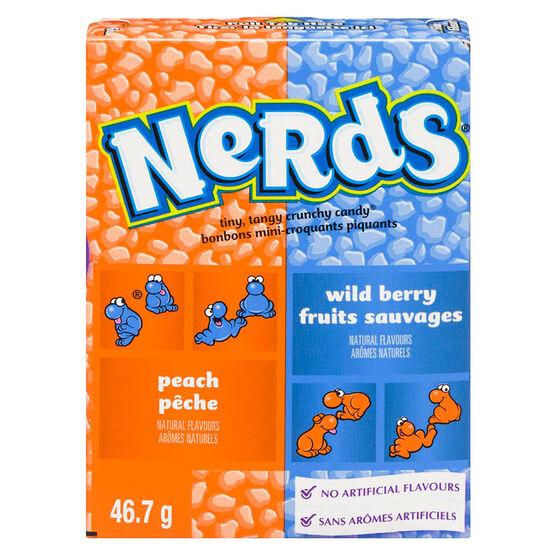 Wonka Nerds - Peach & Wildberry - 46.7g