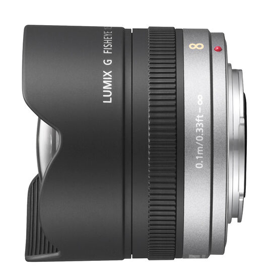 Panasonic Lumix G 8mm f/3.5 Fisheye Lens - HF008