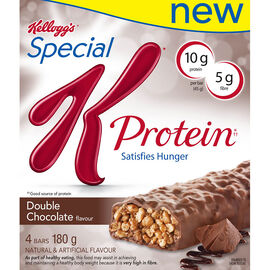 Kelloggs Special K Bar with Protein - Double Chocolate - 4 pack
