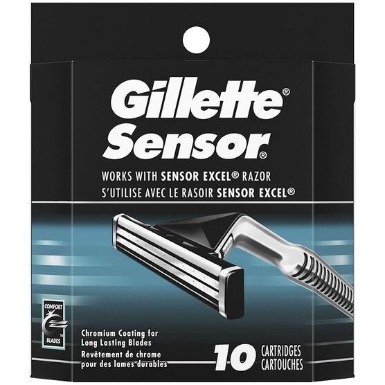 Gillette Sensor Cartridges - 10's