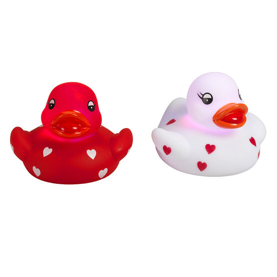 Valentine Light Up Ducks - Assorted