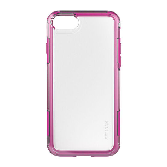 Pelican Adventure Case for iPhone 7 - Clear/Pink - PNIP7ADVCLPK