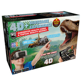 ReTrak 4D Augmented Reality Cards with VR Headset - Dinosaur - ETVRARDINO