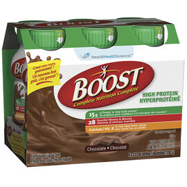 Boost High Protein Drink - Chocolate - 6 x 237ml