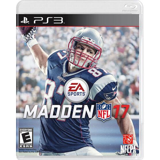 PS3 Madden NFL 17