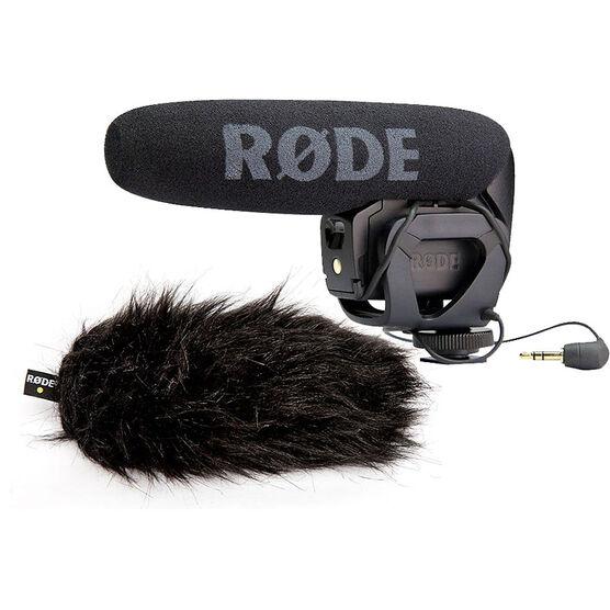 RODE VideoMic Pro with DeadCat Artificial Fur Wind Shield - PKG #56015