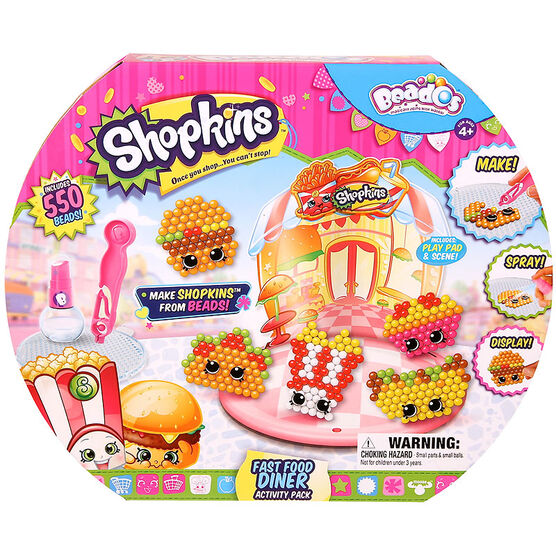Beados Activities Pack Shopkins - Assorted