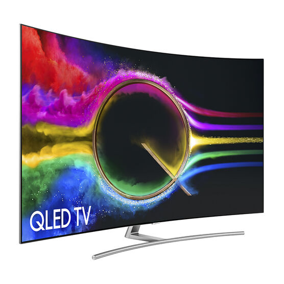 Samsung 75-in QLED 4K Curved Smart TV - QN75Q8CAMFXZC