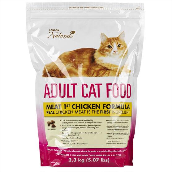 London Naturals Meat 1st Cat Food - Chicken - 2.3kg