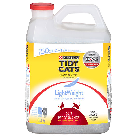 Tidy Cats Lightweight 24/7 Performance Cat Litter - 3.9KG