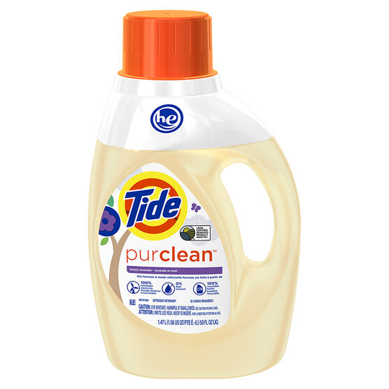 Tide HE PurClean Laundry Detergent - Honey Lavender - 1.47L/32 Uses
