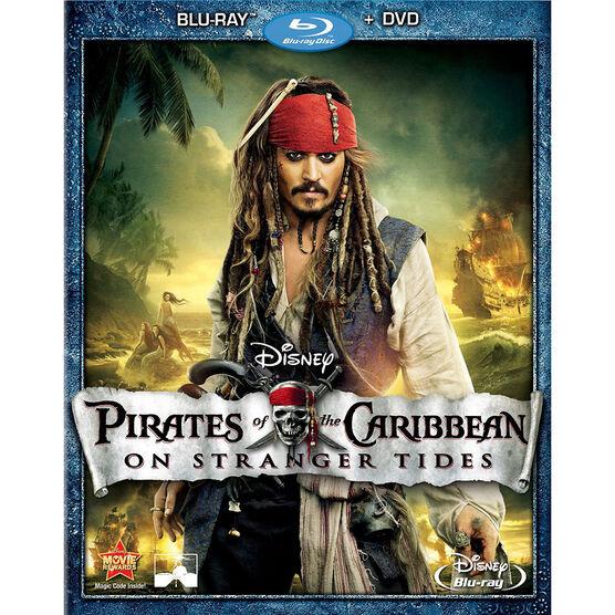 Pirates Of The Caribbean: On Stranger Tides - Blu-ray + DVD