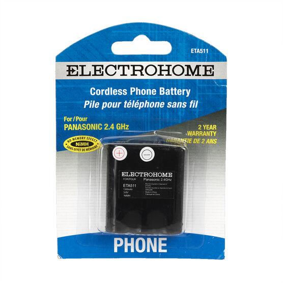 Electrohome ETA511 - Phone battery - rechargeable - NiMH - 1300 mAh