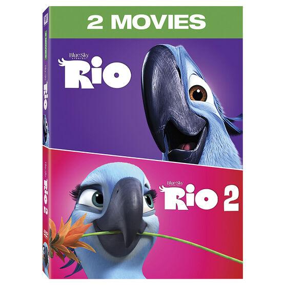 Rio 2-Movie Collection - DVD
