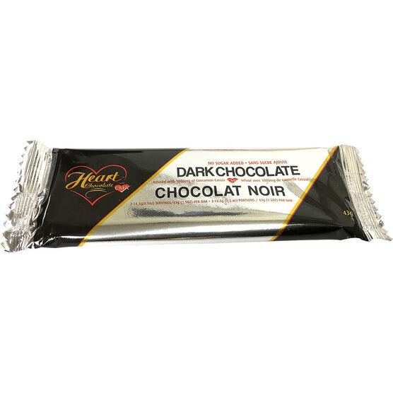 Heart Dark Chocolate - 43g