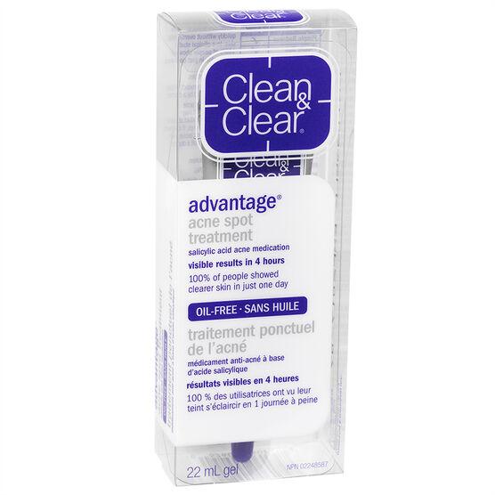 Clean & Clear Acne Spot Treatment - 22ml
