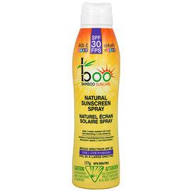 boo Bamboo Suncare Kids & Baby Natural Sunscreen Spray - SPF30 - 177g