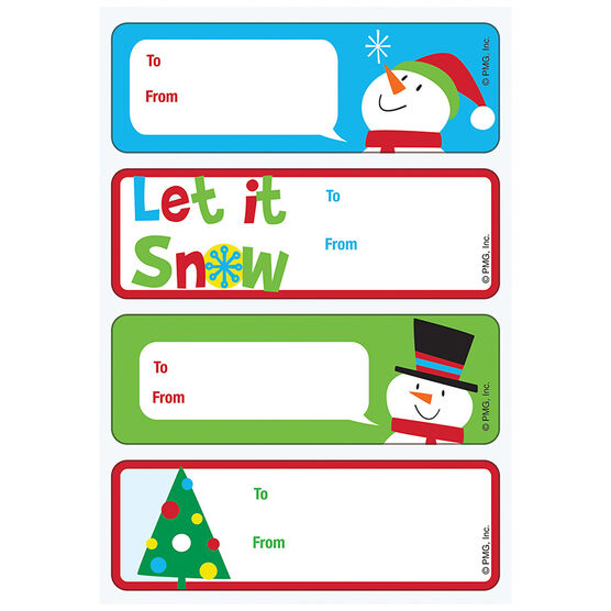 Christmas Roll Gift Tags - 906320AILND - Assorted